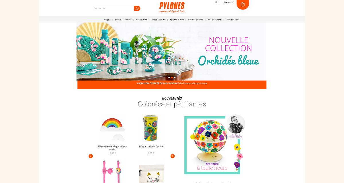 pylones.com on Prestashop