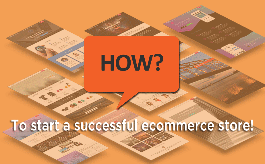 start a successful ecommerce store