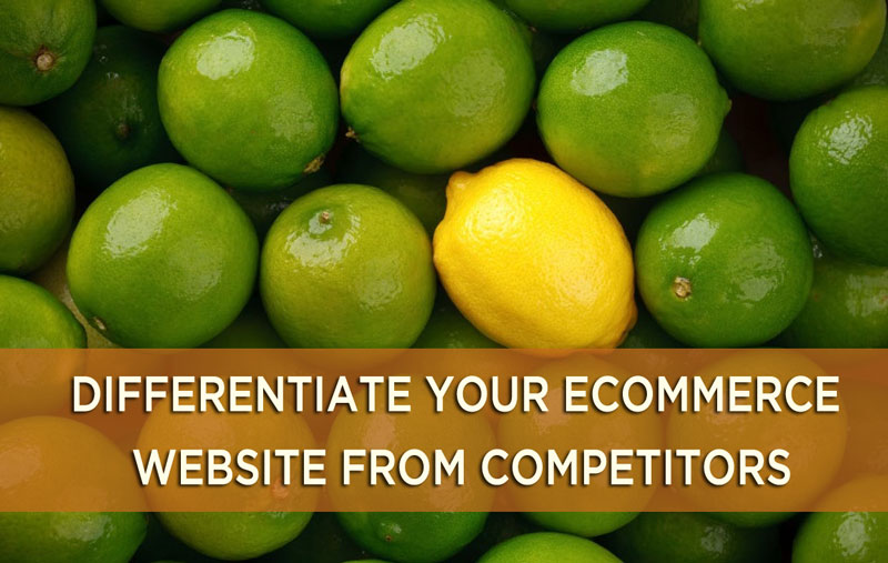 differentiate website from competitors