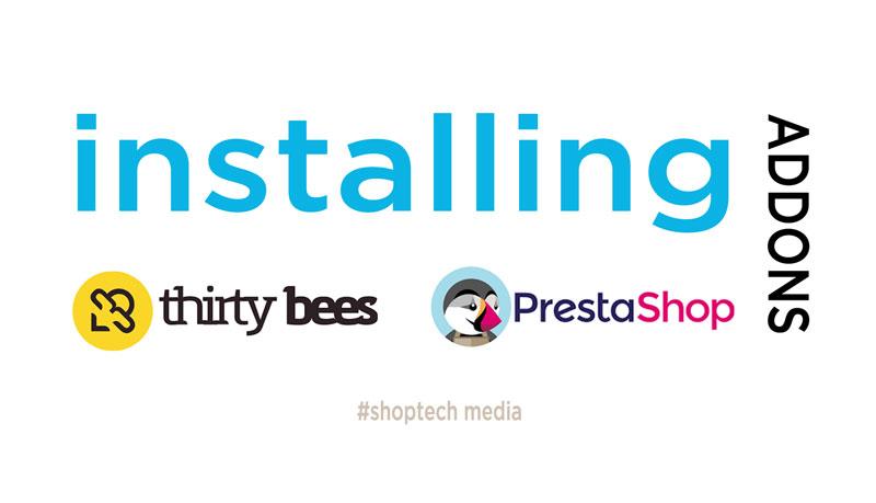 installing prestashop-thirtybees addons
