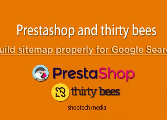 build sitemap prestashop
