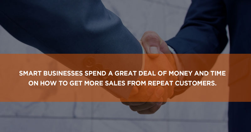 get more sales from repeat customers