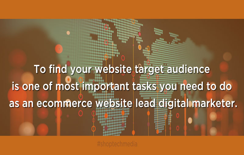 find your website target audience