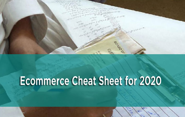 ecommerce cheat sheet
