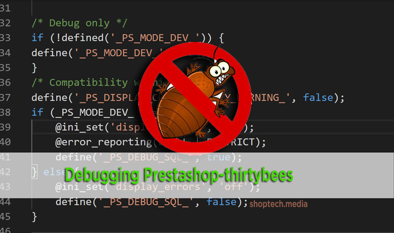 prestashop debug mode