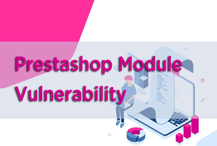 prestashop module vulnerability